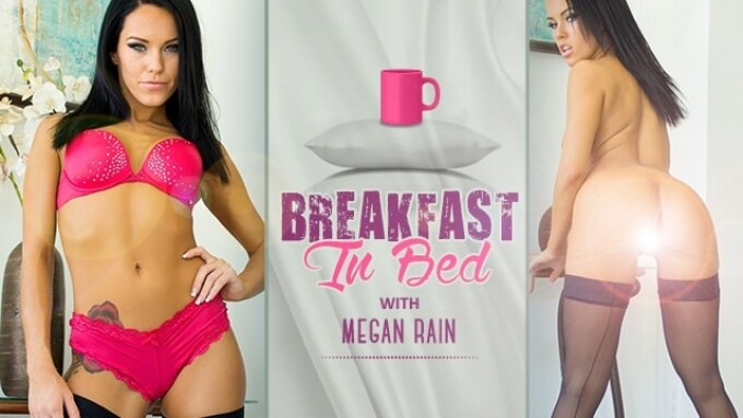 Megan Rain Makes Her WankzVR Debut With 'Breakfast in Bed'