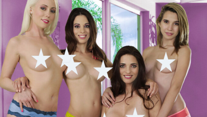 Girlfriends Films Releases 'Wet for Women 4'