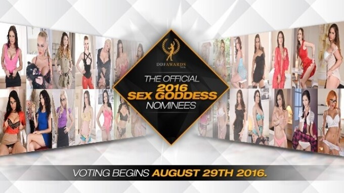 2016 DDF Awards Sex Goddess Nominees Announced