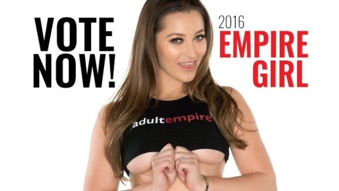Adult Empire Announces Second-Annual Empire Girl Fan Contest