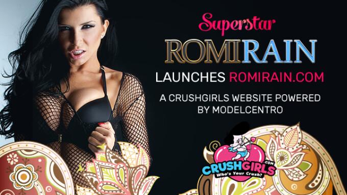 CrushGirls Star Romi Rain Launches Site Powered by ModelCentro