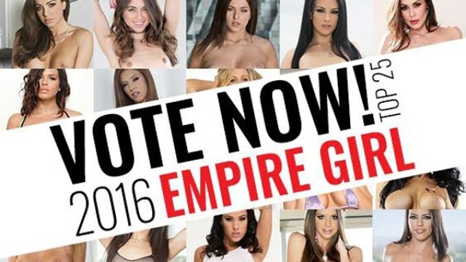 Adult Empire Starts 2nd Round of Fan Voting in 'Empire Girl' Contest
