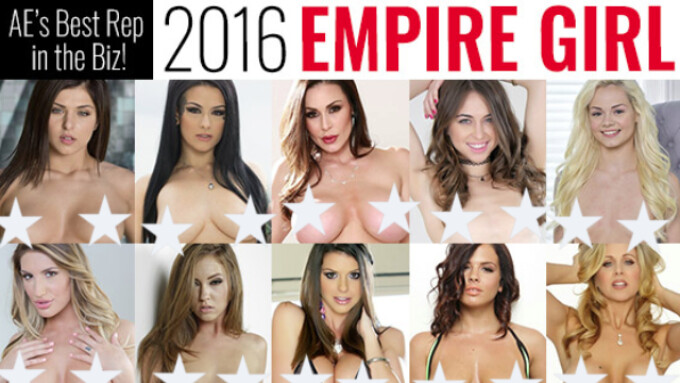 Adult Empire Announces Final 'Empire Girl' Fan Voting Round