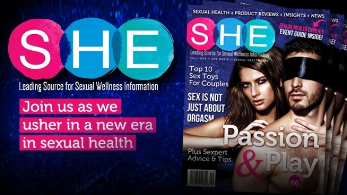 SHE to Debut 1st-Ever Sexual Health-Focused Publication