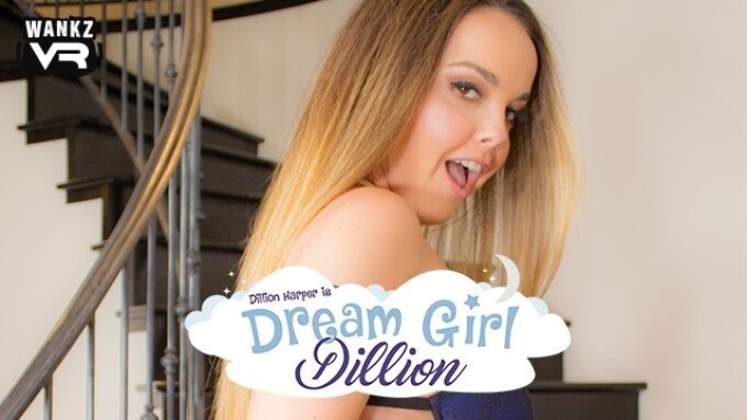 WankzVR Delivers 'Dream Girl Dillion'