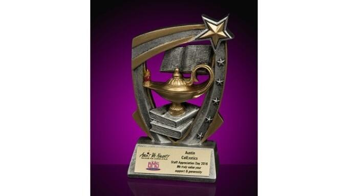 CalExotics' Austin Ferdinand Receives Staff Appreciation Award