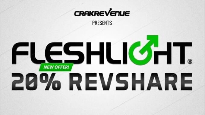CrakRevenue Announces Partnership With Fleshlight