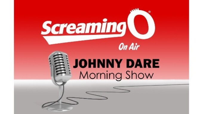 Screaming O Appears on 'Johnny Dare Morning Show'