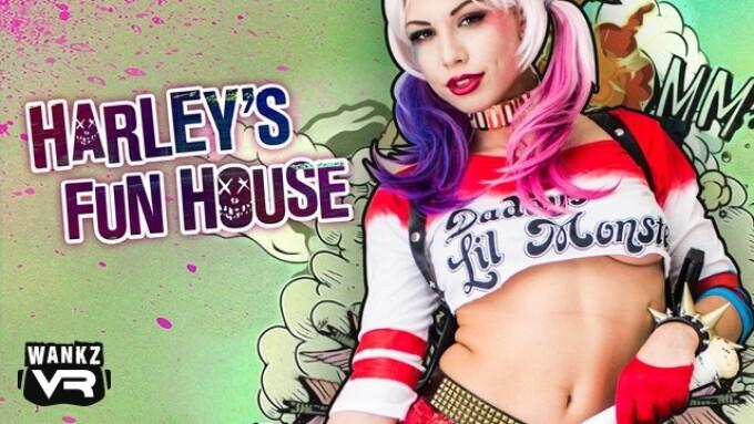 Aidra Fox Featured in WankzVR's 'Harley's Fun House'