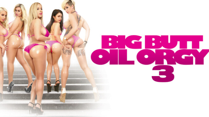 3rd Degree Releases Mike Quasar's 'Big Butt Oil Orgy 3'