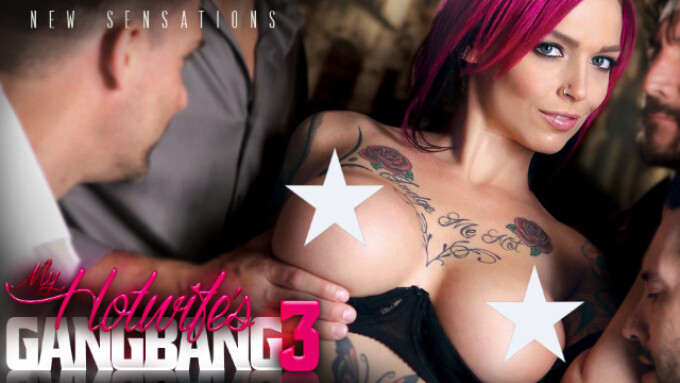 New Sensations Releases 'My Hotwife's Gangbang 3'