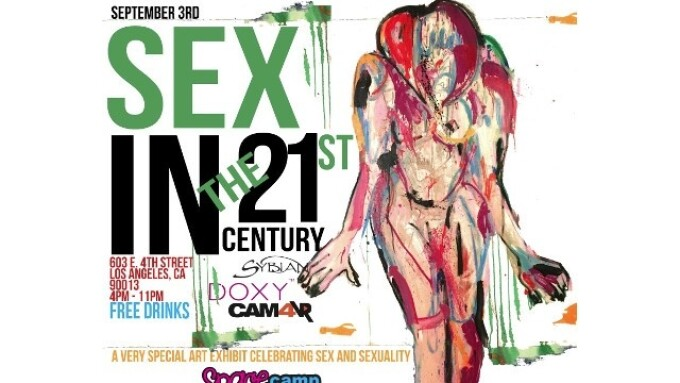 CAM4VR's Ela Darling to Host Futuristic Art Show Tomorrow in L.A.