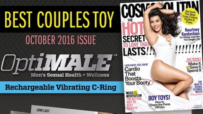 Doc Johnson Nabs 'Best Couples Toy' in Cosmopolitan Magazine