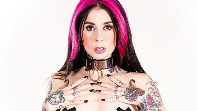 Burning Angel Debuts Joanna Angel Showcase 'Dominantly Submissive'