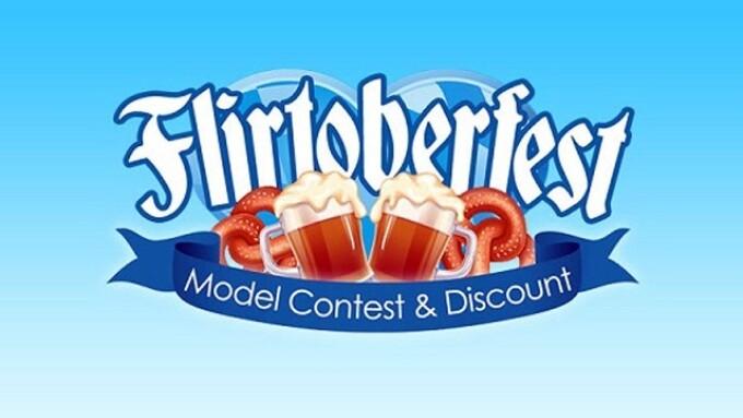 Flirt4Free Launches 'Flirtoberfest' Discount Promotion, Model Contest
