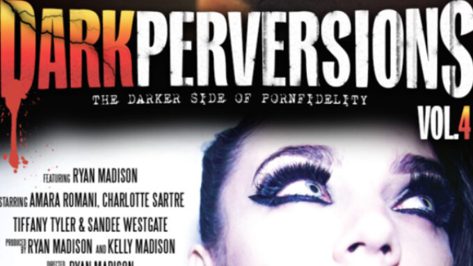 Kelly Madison Releases 'Dark Perversions 4'