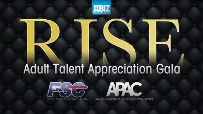XBIZ Announces 2nd Annual RISE Adult Talent Appreciation Gala