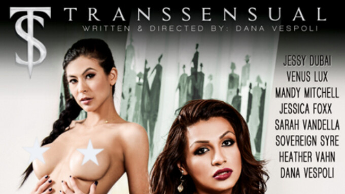 Dana Vespoli Debuts 1st TransSensual Title 'TS Girls in Charge'