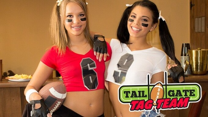 WankzVR Kicks Off Football Season With 'Tailgate Tag Team'