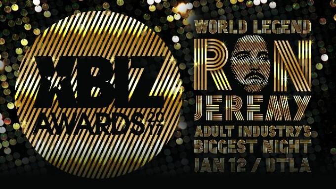 XBIZ Awards 2017 Pre-Nom Period Ends Friday