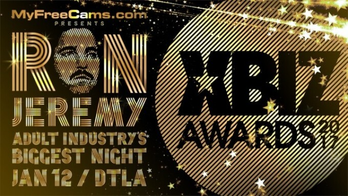 MyFreeCams Signs On as Presenting Sponsor of 2017 XBIZ Awards