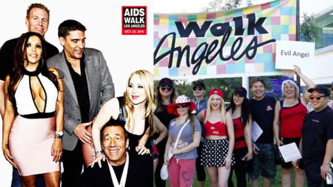 Evil Angel Stars, Directors to Walk for AIDS Charities