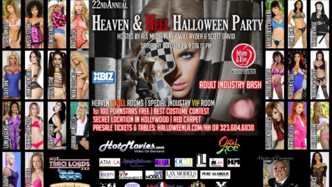 X-Play's 'Heaven & Hell' Halloween Party Set for Oct. 29
