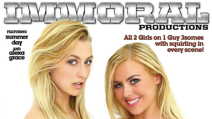 Pure Play, Immoral Debut 'Squirting Sex Parties 2'