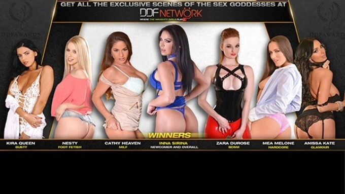 DDF Network Announces 2016 Sex Goddess Winners