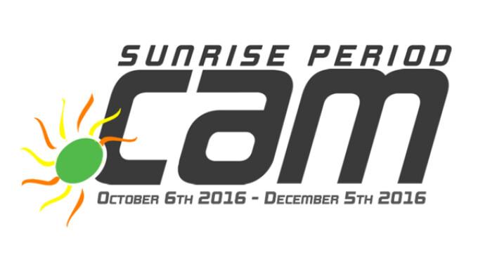 .CAM's Sunrise Period Underway