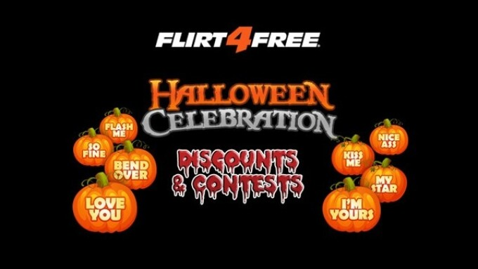Flirt4Free Announces Halloween Model Competition