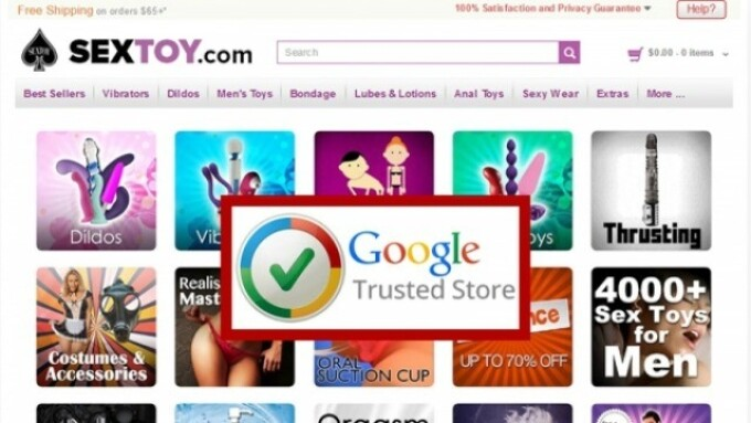 SexToy.com Receives Google Trusted Store Badge