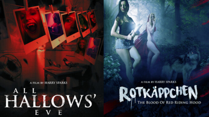 Harry Sparks Releases 2 Horror Titles on Vimeo, Amazon