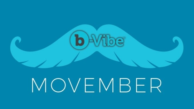b-Vibe Salutes Movember With Male-Focused Sex Ed