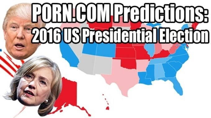 Porn.com Takes Aim at U.S. Presidential Election