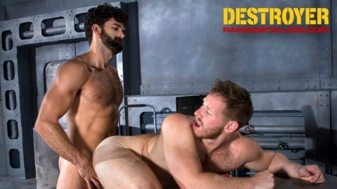 Raging Stallion Debuts 1st Scene From 'Destroyer' on Friday