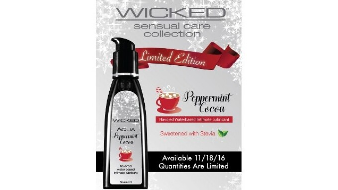 Wicked Sensual Care Introduces Limited Edition Flavor