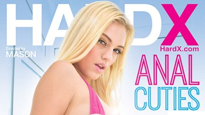 Hard X Releases 'Anal Cuties: Vol. 5' Featuring Alex Grey