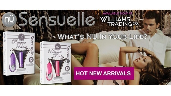 Williams Trading Now Offering Nu Sensuelle Pleasure Panty