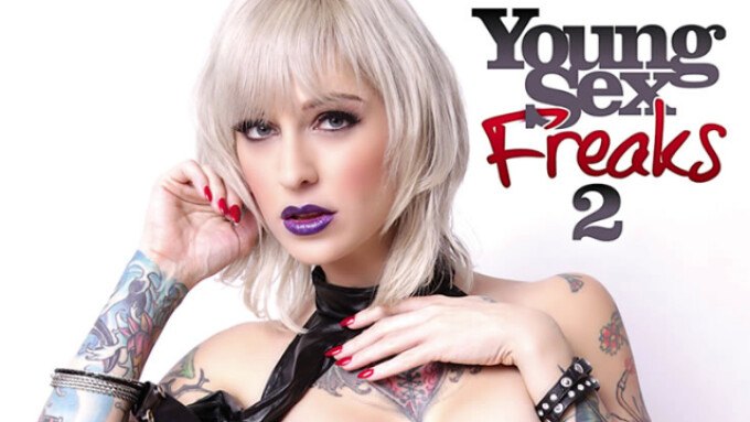 Airerose Debuts 'Young Sex Freaks 2'