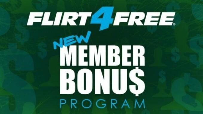 Flirt4Free Launches 100% Bonus Credits Program