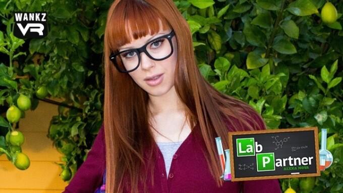 WankzVR Releases 'Lab Partner' Featuring Alexa Nova