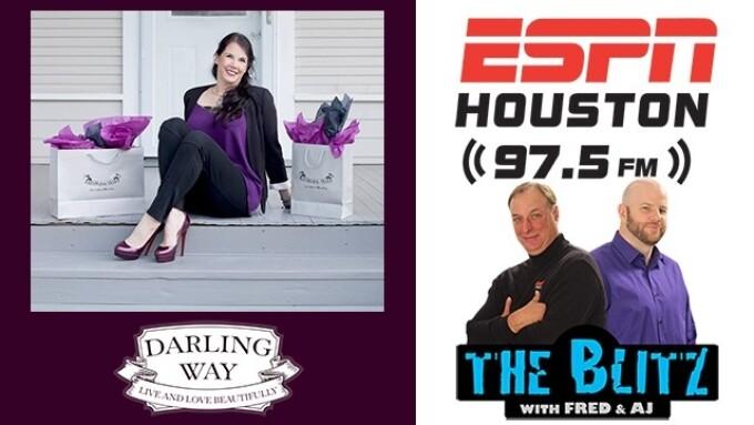 Darling Way's Beth Liebling on ESPN Houston Radio This Thursday