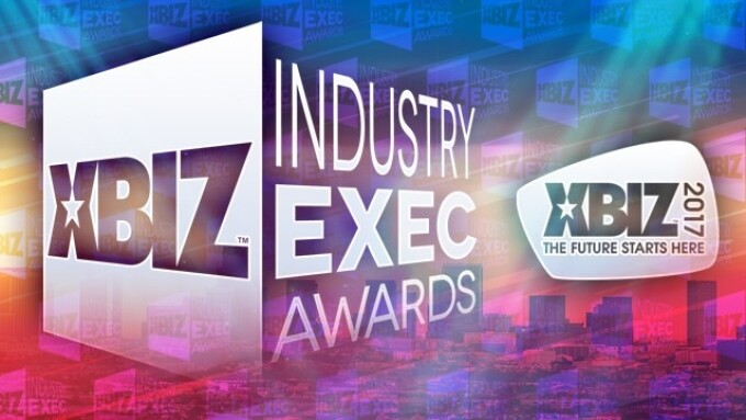 XBIZ Announces 2017 Online Industry Exec Award Winners