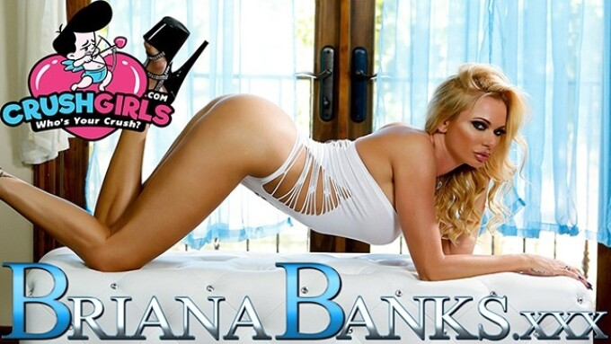 CrushGirls Launches Official Briana Banks Site