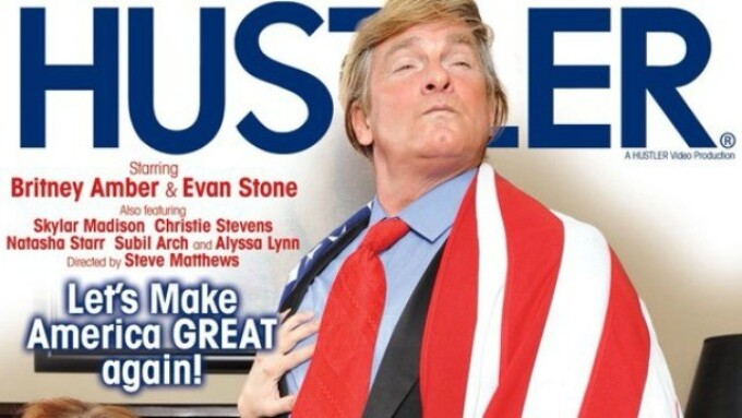 Hustler Restocking 'The Donald' as President Takes Oath