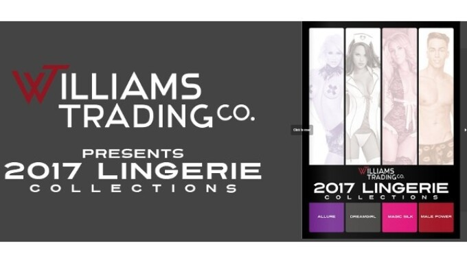 Williams Trading Debuts Lingerie Catalog