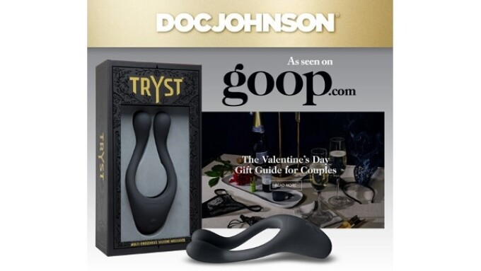 Doc Johnson Featured in Goop's 'Valentine's Day Gift Guide for Couples'