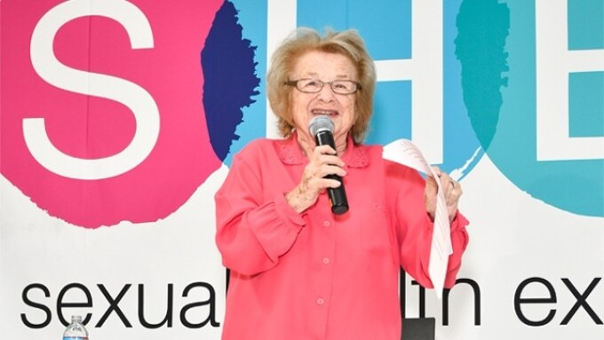 Dr. Ruth Delivers SHE L.A. Keynote to Packed House