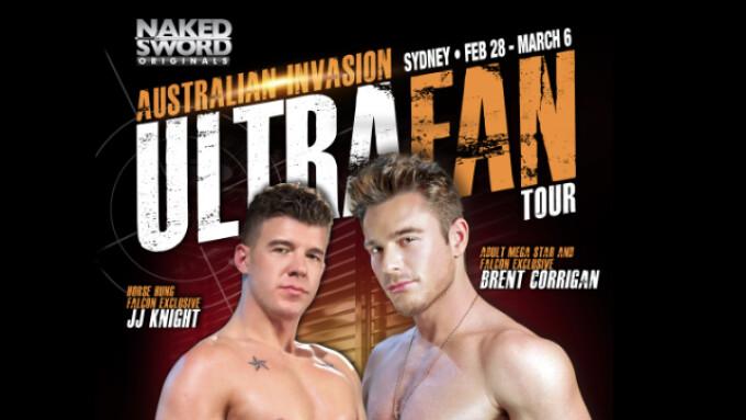NakedSword, Falcon Announce 'Ultra Fan' Australia Tour